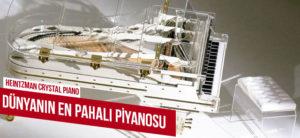 Dünyanın En Pahalı Piyanolarını Biliyor musunuz? Kristal Piyano