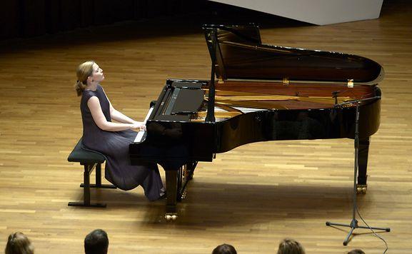 Solo Piyano Yarışması - Piyano Müizk Konser salonu
