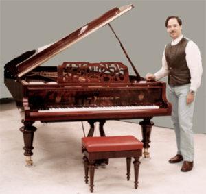 Tarihi İlk Piyanolar. Piyanonun gelişimi Akustik kuyruklu piyano,