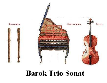 Barok Klasik Müzik Dönemi Konser Triosu